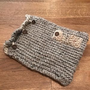 Knitted Ipad /Laptop Case;pocket for Apple Pencil